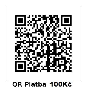 QR platba 100Kč