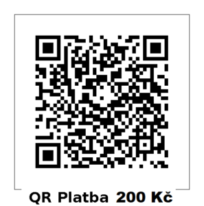 QR platba 200Kč
